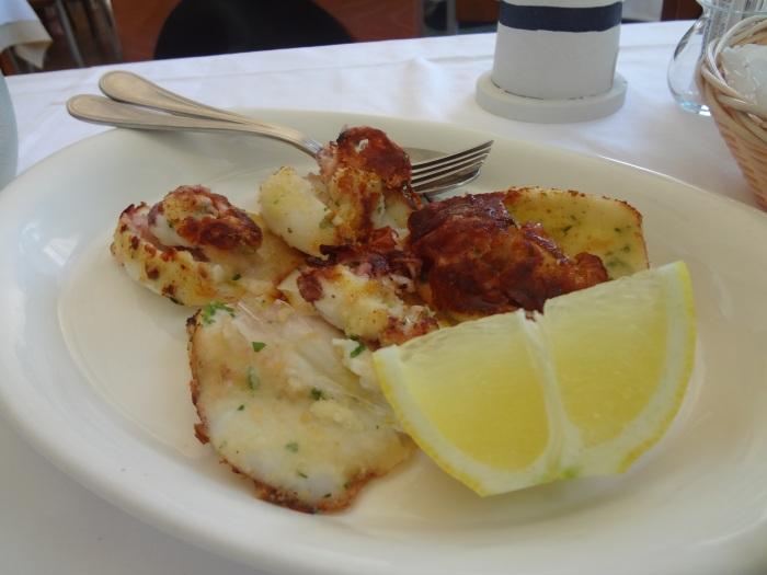 Calamari Grigliati